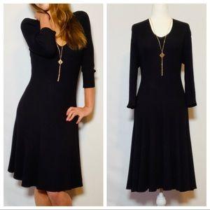 The PERFECT Little Black Winter Dress! 😍
